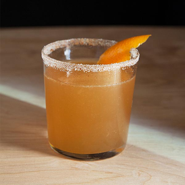 Fiery Orange and Rye Image
