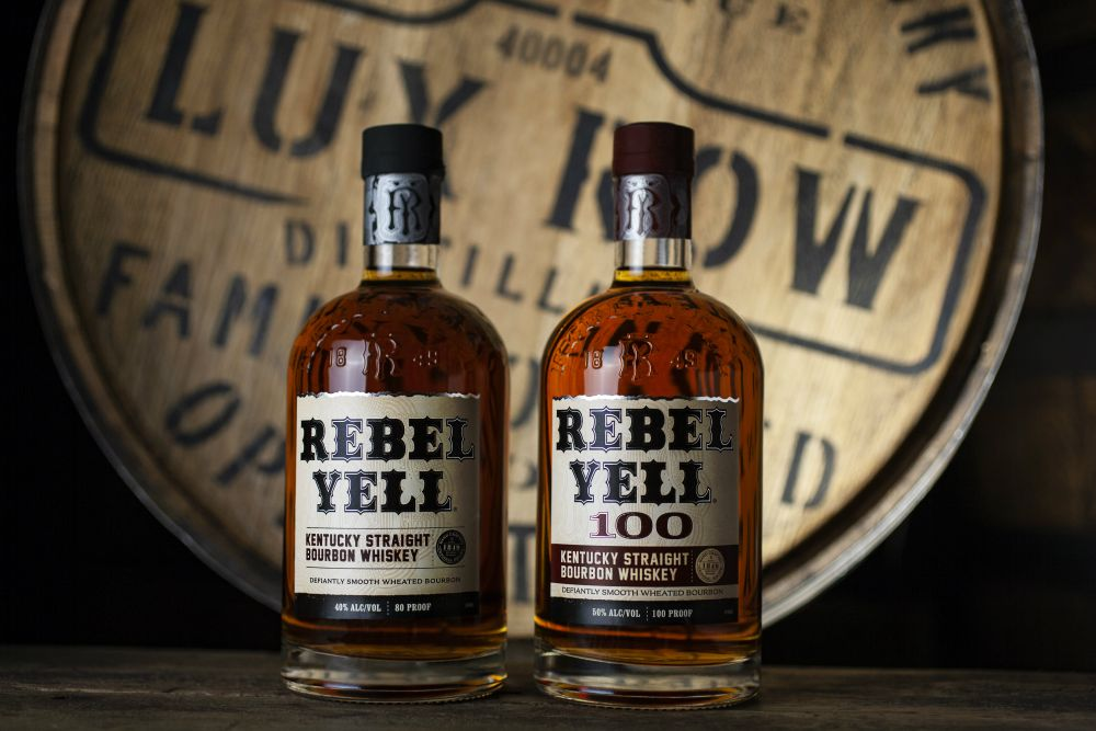 Meet the New Rebel Yell 100 (As in 100 Proof Bourbon)