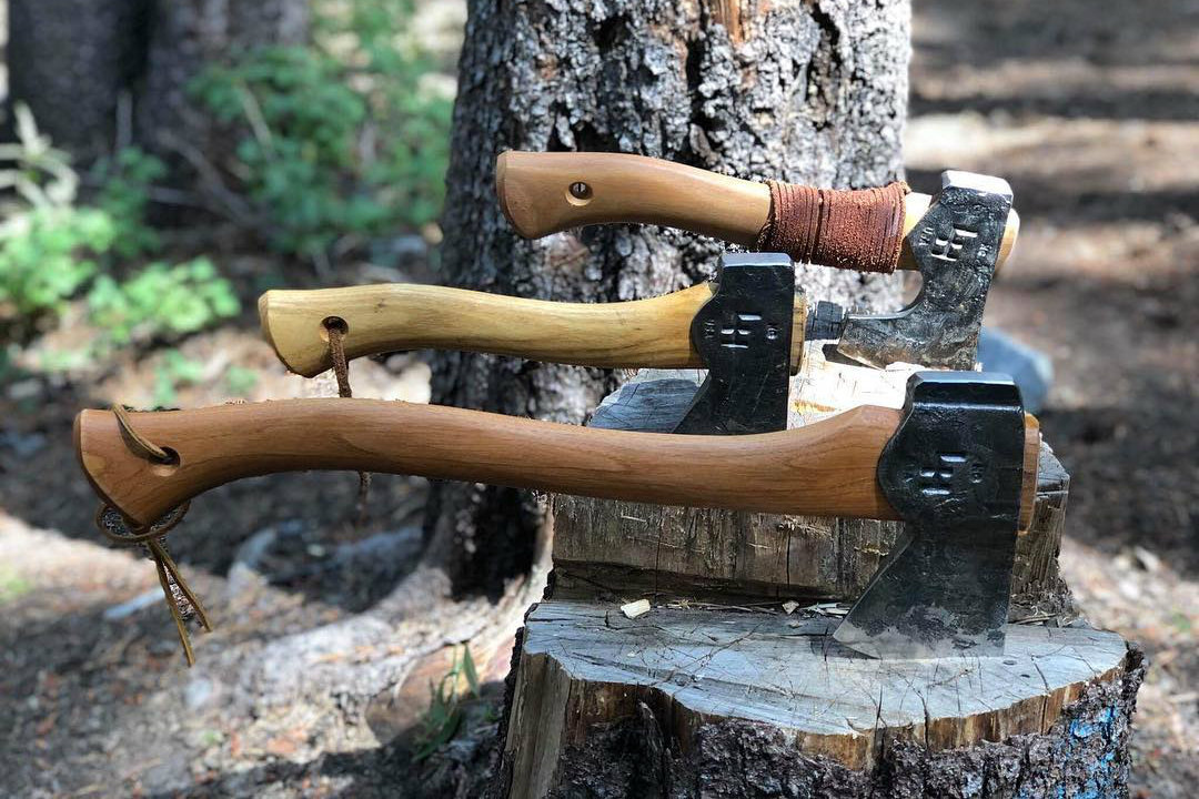 Bad-Axe U.S. Craftsmen Making Custom Hatchets
